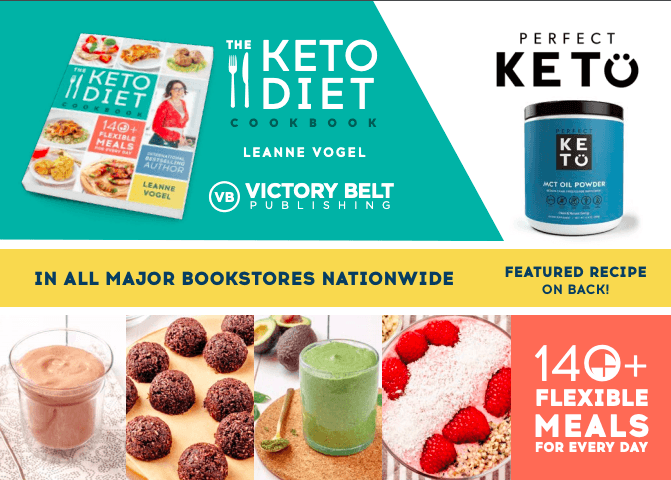 The Keto Diet Cookbook Perfect Keto Bundle ($34 instant savings)