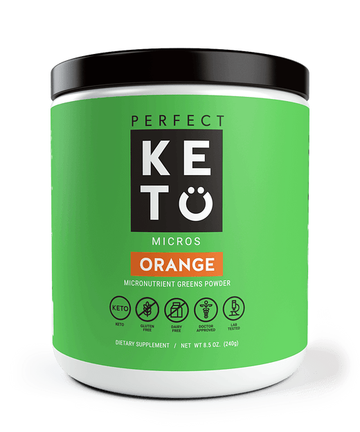 Keto Greens Powder with MCTs - Perfect Keto
