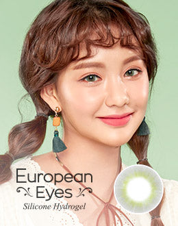 Lenstown European Eyes Silicone Gray