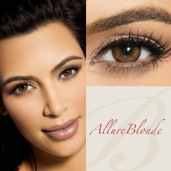 Bella Diamonds Allure Blonde Contact Lenses