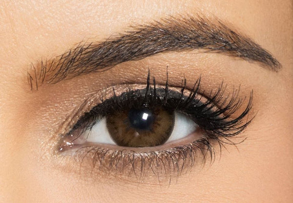 Bella Diamond Brown Shadow Contact Lenses