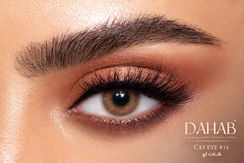 Dahab Lenses Cat Eye