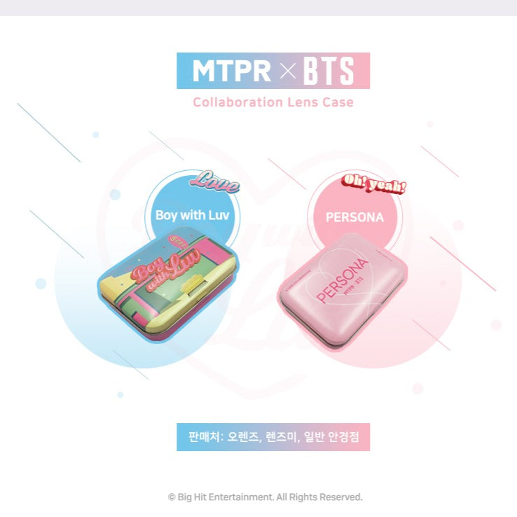 MTPR x BTS Boy With Luv Color Lens Case