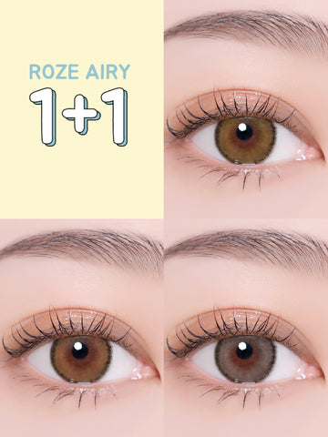 i-DOL LENS ROZE AIRY 1+1 BUNDLE PACK