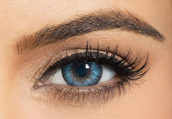 Bella Diamonds Pacific Blue Contact Lenses
