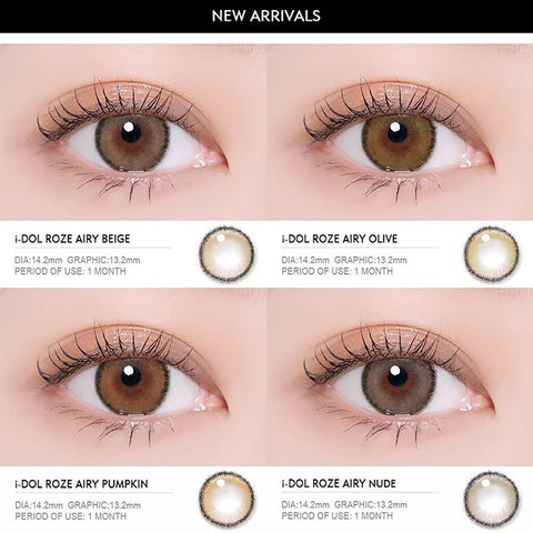 i-DOL LENS ROZE AIRY (GET THEM ALL)
