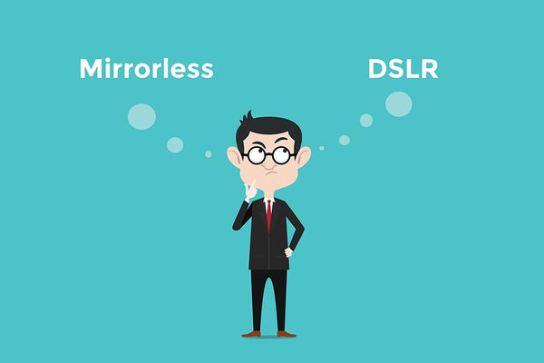 DSLR vs Mirrorless Digital Cameras
