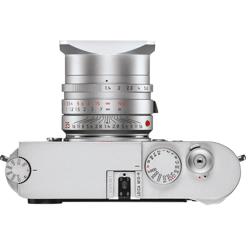 Leica M10-R Monochrom Color Digital Rangefinder Camera - Silver Chrome