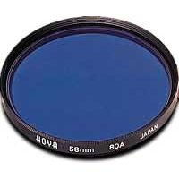 Hoya 49mm 80A Daylight to Tungsten Conversion Glass Filter