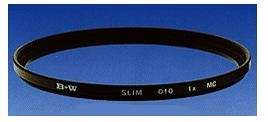 B+W Slim Line Clear UV Haze with Single Coating (010)