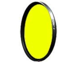 B + W 60mm #022 Glass Filter - Medium Yellow #8