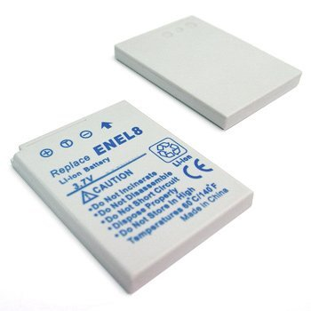 EN-EL8 RECHARGEABLE LITHIUM-ION REPLACEMENT BATTERY FOR SELECT COOLPIX DIGITAL CAMERAS