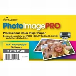 Promaster Pearl Inkjet Photo Paper 4 x 6'' - 50 Sheets