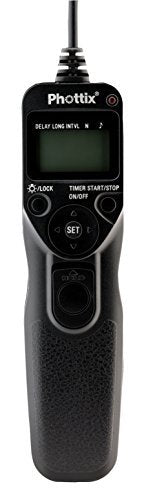 Phottix Multi-Function Camera Remote with Digital Timer TR-90 for Canon