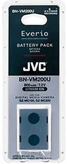 JVC BN-VM200U Battery Pack for Everio 100 & 200 Camcorders