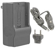 Synergy Digital Quick Battery Charger for Kyocera BP780S Battery (110/220v with Car Adapter)