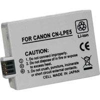 Power 2000 ACD-289  Lithium-Ion Battery 1500mAh for Canon LP-E5, LPE5 Battery