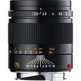 Leica SUMMARIT-M 75mm f/2.5 (E46) Ultra Compact Short Telephoto Lens