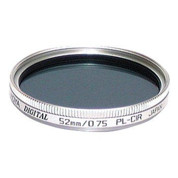 Hoya 52mm Circular Polarizing Glass Filter Black