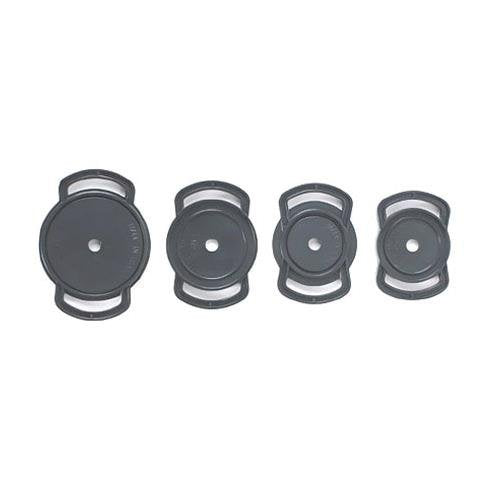 Cap Buckle CB200AE Lens Cap Holder 82-77-72 (Black)