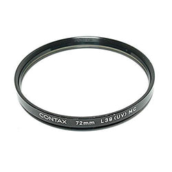 Contax 72mm UV Metal/Glass Filter with Case