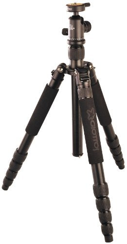 Giottos VGR9265-MC Aluminum Tripod/Monopod with Quick Release Ball Head Maximum Height 66.1-Inch