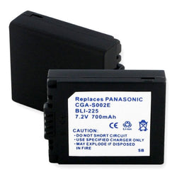 ONE Empire non OEM battery for Panasonic CGR-S002, DMW-BM7 & others.