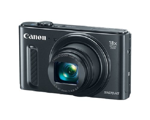 Canon PowerShot SX610 HS Digital Camera with Wi-Fi Enabled (Black)