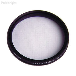 49mm 4pt/2mm Grid Star Effect Filter - Polebright updated