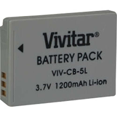Vivitar VIV-CB-5L - Battery for Canon NB5L