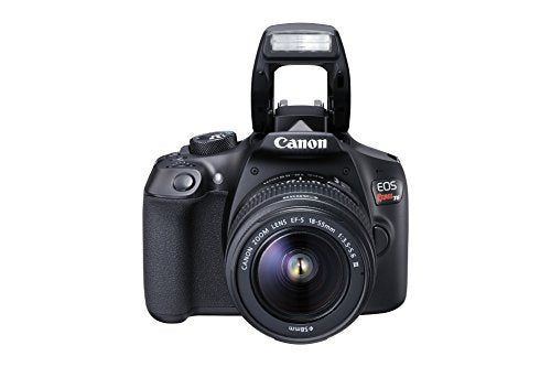 Canon EOS Rebel T6 Digital SLR Camera Kit with EF-S 18-55mm f/3.5-5.6 DC III Lens (Black)-Camera Wholesalers
