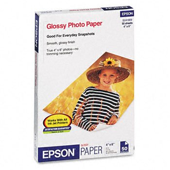 EPSS041809 - Epson Glossy Borderless Photo Paper