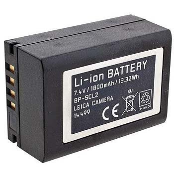 Leica 14499 Li-ion Battery Pack for BP- SCL2 (Black)