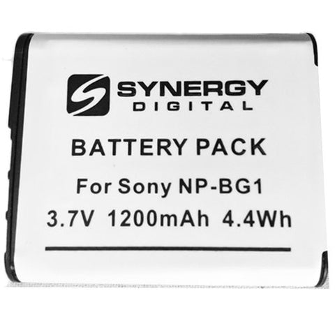 SD-NP-BG1 Rechargeable Lithium-Ion Battery - Replacement for Sony NP-BG1 Battery