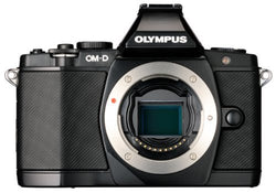 Olympus OM-D E-M5 Mirrorless Micro Four Thirds Digital Camera (Body, Black)