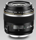 Canon EF-S 60mm f/2.8 Macro USM Fixed Lens for Canon SLR Cameras