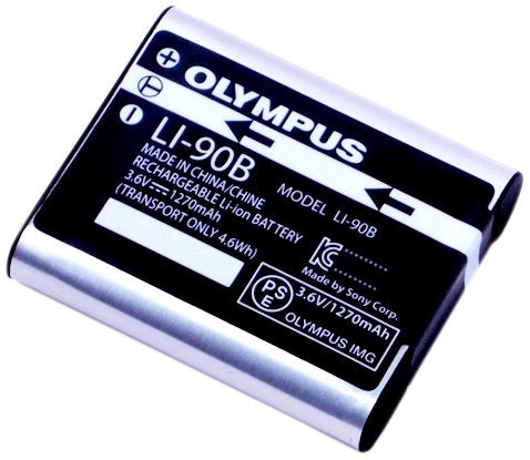 Olympus LI-90B Rechargeable Battery (Silver)