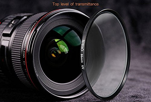 86mm Professional Clear UV Haze Lens Filter for NIKON Canon DSLR Cameras Photography Ultraviolet Protection Filter