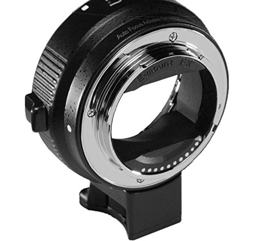 Camson Canon EF/EF-S Lens to Sony E-Mount Camera Electronic Lens Adapter