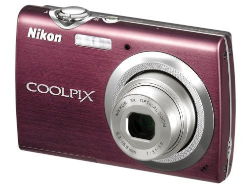 Nikon Coolpix S230 10MP Digital Camera with 3x Optical Zoom and 3 inch Touch Panel LCD