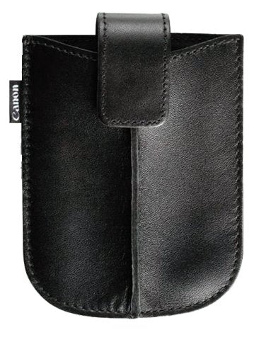 Canon Leather Camera Case for Canon Powershot ELPH 180 and ELPH 190 Digital Cameras with Belt Loop and Magnetic Closure