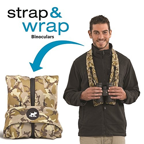 New!!! Universal and Padded Miggo Strap and Wrap Binocular Case - Black