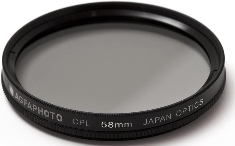 AGFA 58mm Circular Polarizing (CPL) Glass Filter