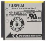 Fujifilm NP-50 Lithium Ion Rechargeable Battery for Fuji F60fd, F50fd & F100fd Digital Cameras - Retail Packaging