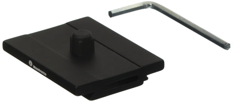 Manfrotto MSQPL Quick Release Plate for Q6 Top Lock System (Black)