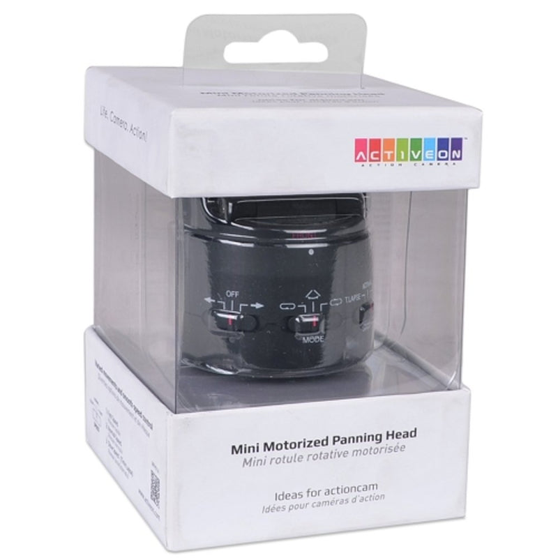 Activeon MPH01A Mini Motorized 360° Panning Head for Activeon Action Camera