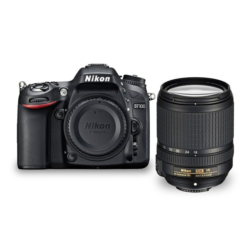 Nikon D7100 24.1 MP DX-Format CMOS Digital SLR with 18-55mm f/3.5-5.6G VR AF-S DX NIKKOR Zoom Lens