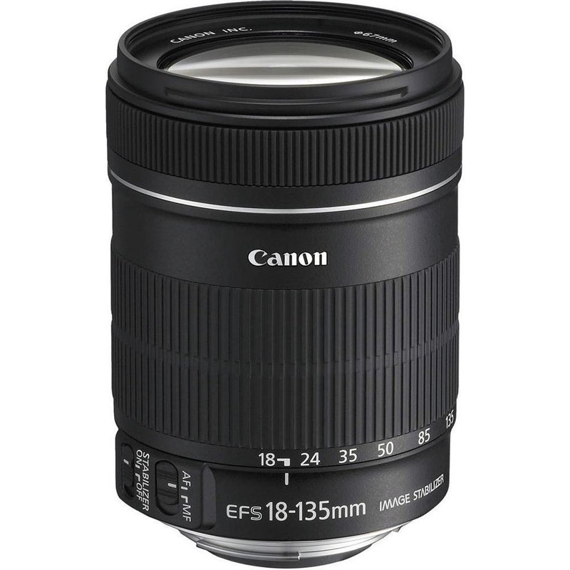 Canon 18-135mm f/5.6-38 for Canon EF-S Cameras Standard-Zoom Lens Fixed Zoom