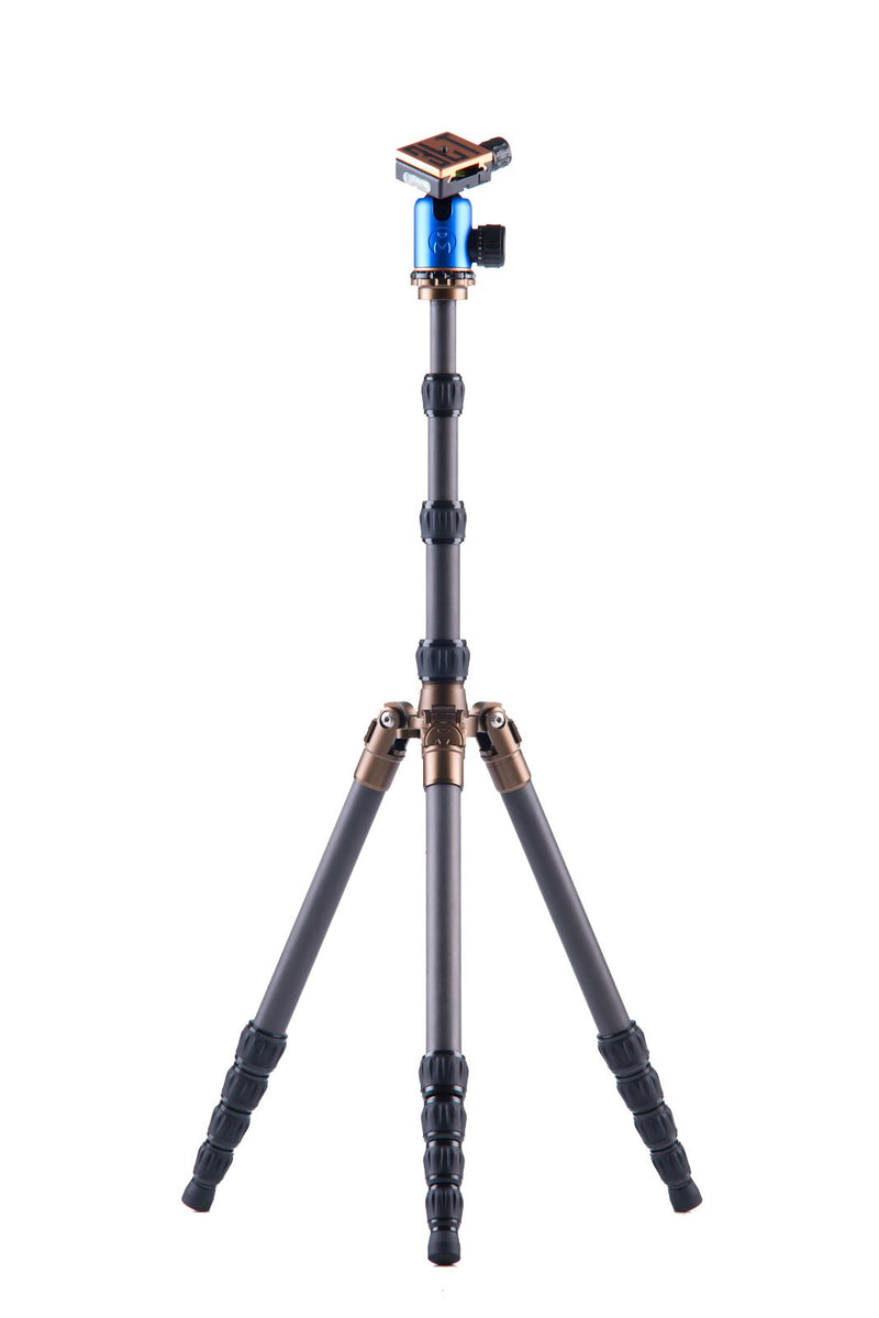 3 Legged Thing X1.1 Brian Evolution 2 Carbon Fiber Tripod System with AirHed 1 Ball Head (Blue)