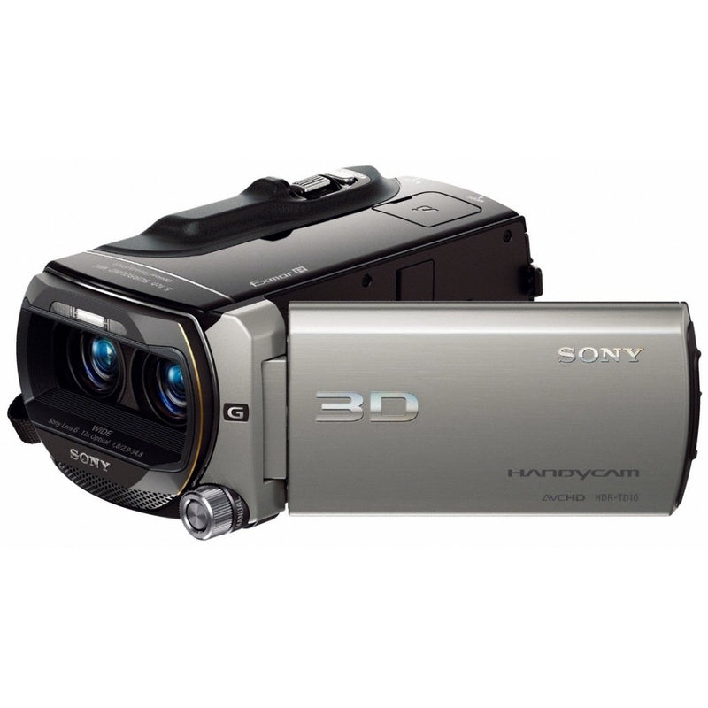 Sony HDR-TD10 Full HD 3D Camcorder (Silver)